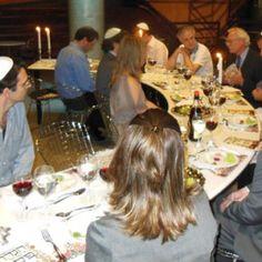 Jornalistas participam de jantar de Pessach