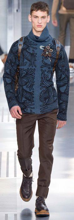 Louis Vuitton - Fall 2015 | Men's Fashion & Style | Luxury Casual | Moda Masculina | Shop at designerclothingfans.com