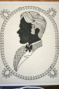 line drawing - silhouette inspiration!!!!!!!