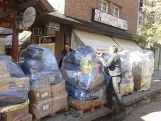 Estuvieron realizando una colecta para los inundados del Litoral.