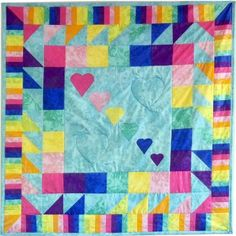 Love the colors, love the hearts