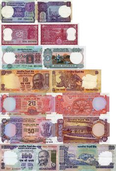 Rupees. Even the money is exquisitely colorful in India.    #ridecolorfully