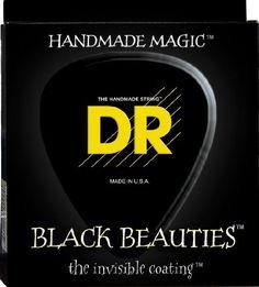 Electric #Guitar #Strings, Black Beauties