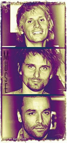 Dom - Matt - Chris - MUSE