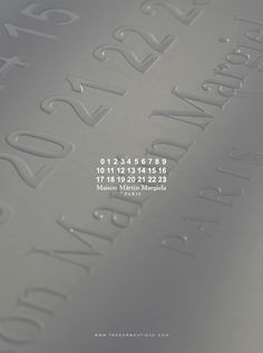 Trendy Fashion Show Invitation Layout Maison Martin Margiela Ideas エルメス Apple Watch, Graphic Design Typography, Branding Design, Fashion Advertising, Advertising Archives, Fashion Show Invitation, Invitation Layout, Paris, Editorial Design