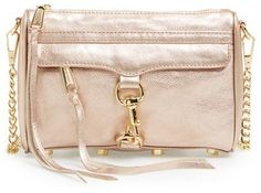 $195, Rebecca Minkoff Mini Mac Convertible Crossbody Bag. Sold by Nordstrom. Click for more info: https://lookastic.com/women/shop_items/161923/redirect