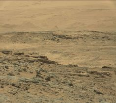 NASA encontró la pared antigua en Marte