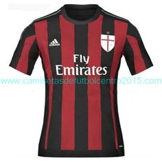 The new Adidas AC Milan Home Kit features a traditional design. The new AC  Milan Away Jersey is white 87a497b53aeb9