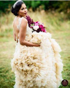 @hiphiphooraystudio | Bridal wear: @ruthmilliamcouture | Model: @joelahnoble Model: @joshuarofficial   #ontheblog #romanticwedding #bridetobe #weddingstyle #instawed #dreamwedding #StrictlyWeddings #frills #weddingdress #wow #stunning #bride #blackbride
