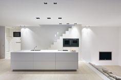 Wooden flooring in kitchen - Douglas by Dinesen