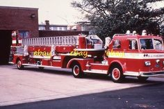 Washington DC Truck 17 1970 Pirsch 100  TDA - Fire Apparatus Slide Dc Fire, Truck Engine, Fire Apparatus, Emergency Vehicles, Firefighting, Fire Dept, Ladders, Fire Trucks, Washington Dc