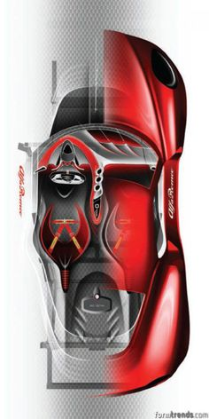 Alfa Romeo 4C Design Story « Form Trends