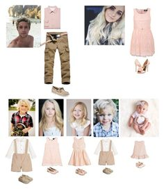 """Family Photoshoot"" by dancingkk ❤ liked on Polyvore featuring Love Made Love, Unisa, Armani Junior, Derhy, Laranjinha, Pilot, Badgley Mischka, Paul Smith and Sperry"