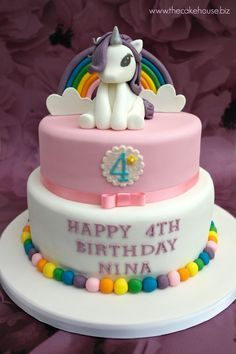 My Little Pony Cake Ideas – Rarity Cake   Twilight Sparkle, Pinkie Pie, Rainbow Dash, Rarity, Fluttershy, Applejack, Unicorn, Spike, Equestria, Ponyville, Princess Celestia, Nightmare Moon
