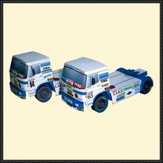 1987 LIAZ Truck Paper Model Free Template Download - http://www.papercraftsquare.com/1987-liaz-truck-paper-model-free-template-download.html