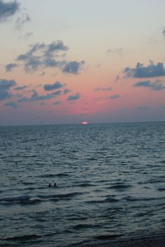 .....sunset