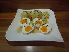 Zutaten    4 Ei(er)  1 EL Mehl  1/2 Liter  Milch  30 g  Butter  5 EL Senf, mittelscharf  Salz und Pfeffer        Zubereitung    ...
