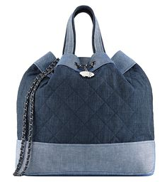 The Beautiful Bags of Chanel Spring 2014 Pre-Collection  -Chanel Denim Backpack