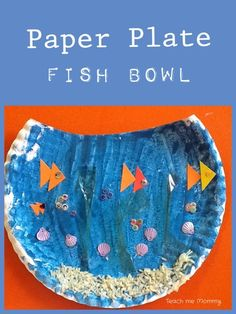 During another fun-filled week we talked a bit more about life under sea and different ocean animals. We learned about aquariums too, and how to look after a pet fish. We worked for half of the week on this fish bowl craft
