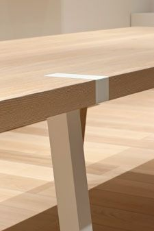 Infinity table by ILB Interieur.
