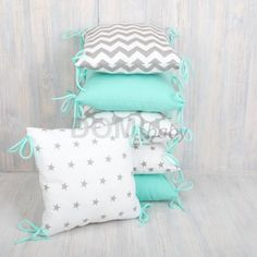 Baby Cribs, Bed Pillows, Pillow Cases, Room Decor, Diy, Baby Things, Beds, Tejido, Objects