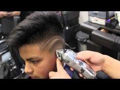 Corte degradê passo a passo - Curso de Barbeiros - YouTube