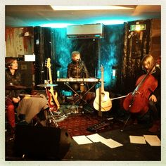 #Annika And The Forest @Gambetta Club in Paris France with #Annika Grill #Caroline Geryl and #Charlotte Patel
