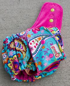 Paislicious One-Size Fitted Diaper by thegoodmama.com, via Flickr
