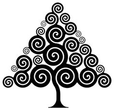 spiral branch tree | Figure 8. Under the spreading curly tree ( ficus archimedea ).