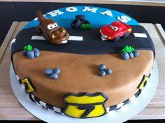 #Cars #taart voor m'n boef die alweer 7 wordt #cake #boy #kindertaart