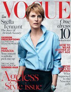 Vogue UK July 2015 - Stella Tennant