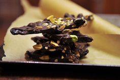 Ancho Chili-Cinnamon Chocolate Bark