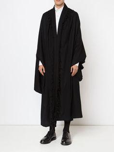 Visions of the Future // Yohji Yamamoto - long oversized coat