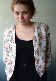Jacket, roses blossom #vintage www.secondoutfit.cz