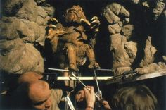 Rancor - The Return of the Jedi | 24 Famous Miniature Movie Sets That Will Blow Your Mind