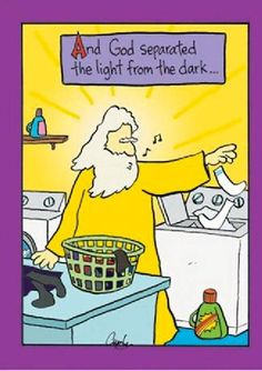 God doing laundry @ http://themomjournal.weebly.com/25/post/2012/04/god-doing-laundry.html
