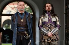 The Musketeers - Minister Treville and King Louis