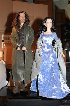 Arwen and Aragon Robert Tonner Dolls