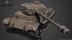 World of Tanks - Art Dump - polycount