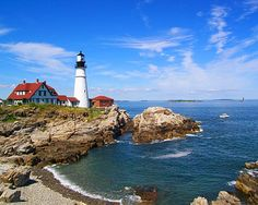 Portland, ME #US #Portland #Maine #lighthouse #coast