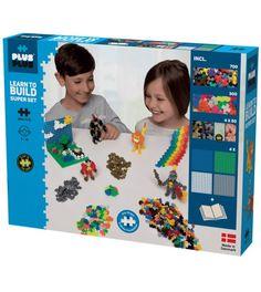 Plus Plus MINI Lær å bygge 1200 biter - Mega byggesett - Super Sets, Modern Shop, Gull, Kit, Motor Skills, 3d Design, Boy Or Girl, Mosaic, Creations