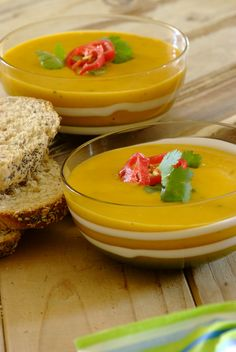 Spicy Thai Butternut Soup: a simply delicious twist on a South African favourite!  #soup #recipes