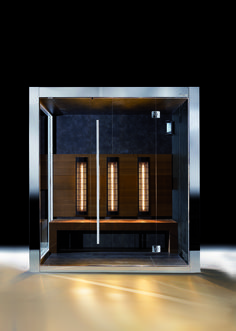 Infrared sauna works heating the body, penetrating it directly by the IR and… Finnish Sauna, Sauna Room, Infrared Sauna, Saunas, Muscles, Blood, Spa, Relax, Wellness