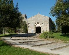 Church of São Miguel do Castelo, Oliveira do Castelo, Portugal  - constructed of granite || Romanesque Architecture Explained (5th – 13th Century AD)