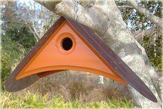 Fully FUNCTIONAL BIRDHOUSES  A Springtime Design by MikeMerrittArt, $60.00