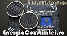 """""""Pandantiv Scalar Cuantic cu Floarea Vieţii şi Spirala Fibonacci, din Cenuşă Vulcanică şi Turmalină – cod ORG217 Condiţie: Nou Model: Unisex Material: Cenuşă Vulcanică şi Turmalină Simboluri faţă: Floarea Vieţii Simboluri verso: Spirala Fibonacci Emisie ionică: 6000 Ioni Negativi Culoare: Negru, Argintiu Greutatea: 26g Diametru: 45mm Lungimea lănţişorului: 600mm"""""""