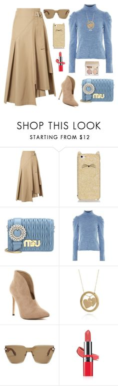 """Untitled #2525"" by ebramos ❤ liked on Polyvore featuring 3.1 Phillip Lim, Kate Spade, Miu Miu, Topshop, Belk & Co., Givenchy and Avon"