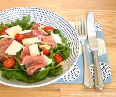 Avocado and Parma Ham Salad
