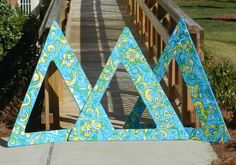 Lilly Tri Delta Letters oneletteronelove