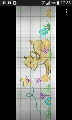Bebek - #bebek Baby Cross Stitch Patterns, Cross Stitch For Kids, Cross Stitch Kitchen, Cross Stitch Borders, Cross Stitch Baby, Cross Stitch Animals, Cross Stitching, Cross Stitch Embroidery, Couture